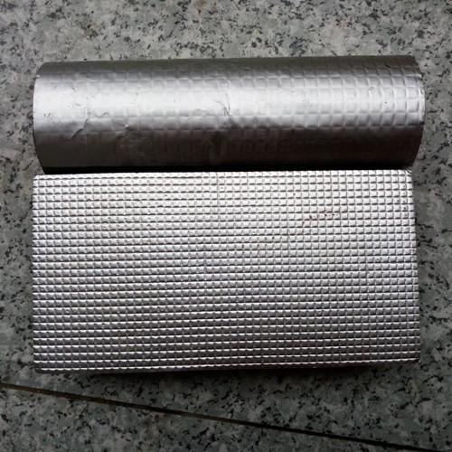 铝箔橡塑自粘保温板怎么施工