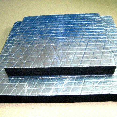 铝箔橡塑保温板应用范围